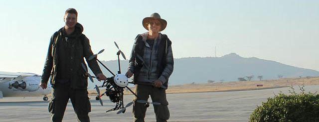 Hoge kwaliteit drone opnames en luchtfotografie