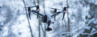Professionele luchtvideo drones Nederland