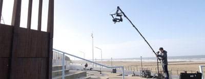 Lichtgewicht draagbare video crane