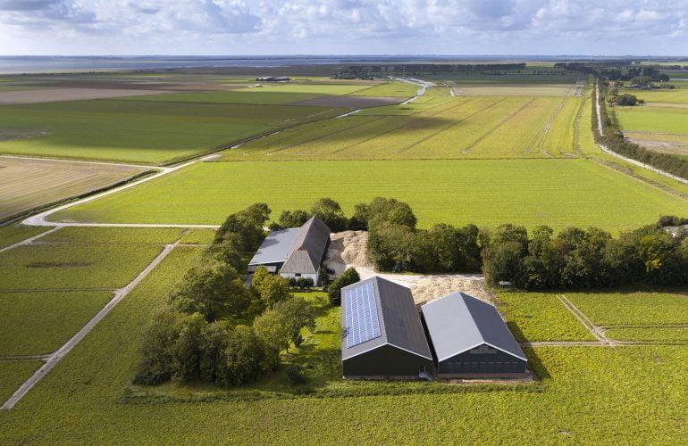 Een luchtfoto van je huis