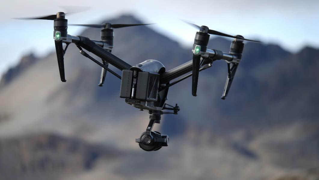 Een drone luchtvideo laten maken met een Inspire 2