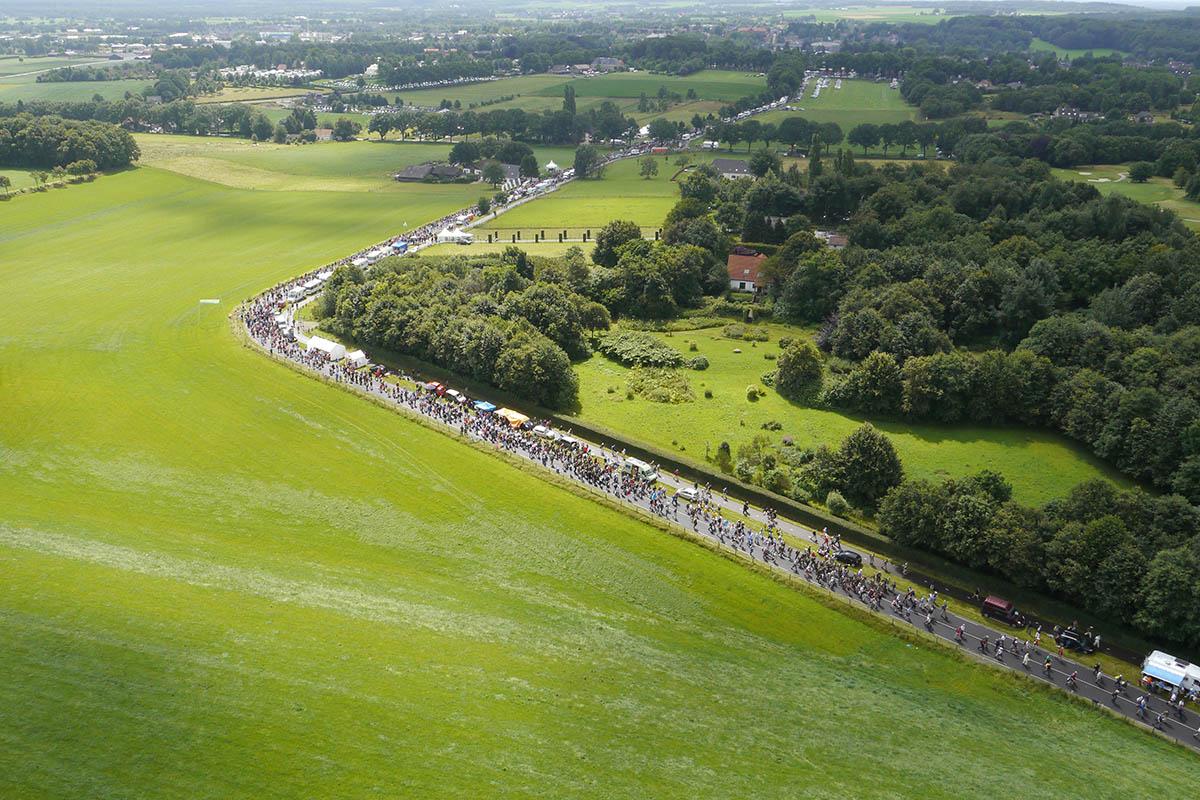 Nijmeegse 4 daagse luchtfoto