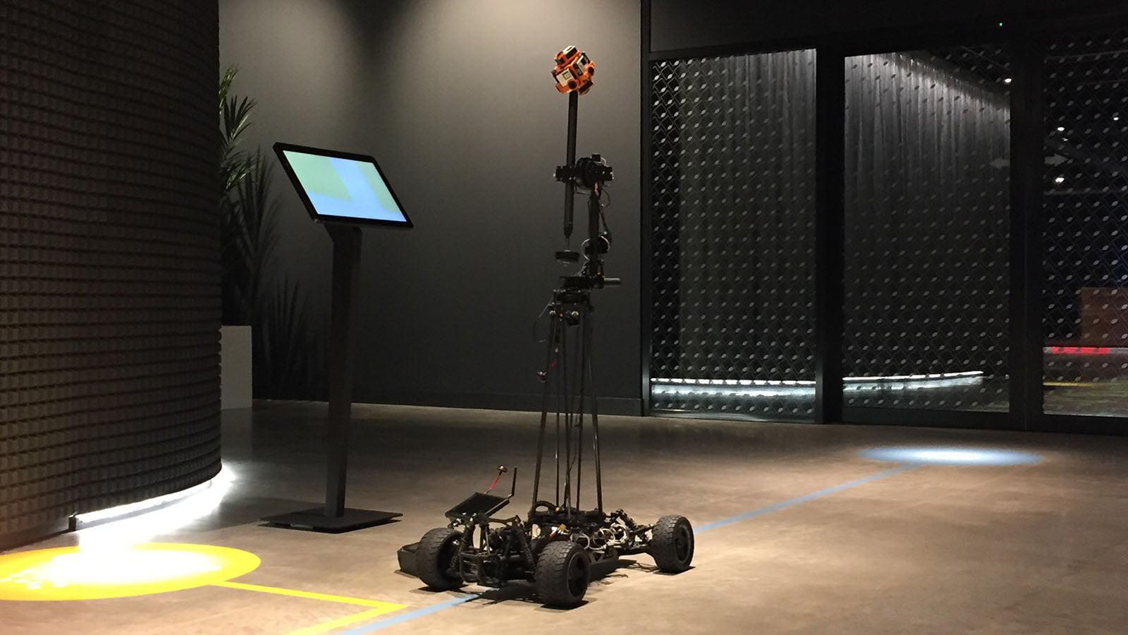 VR car