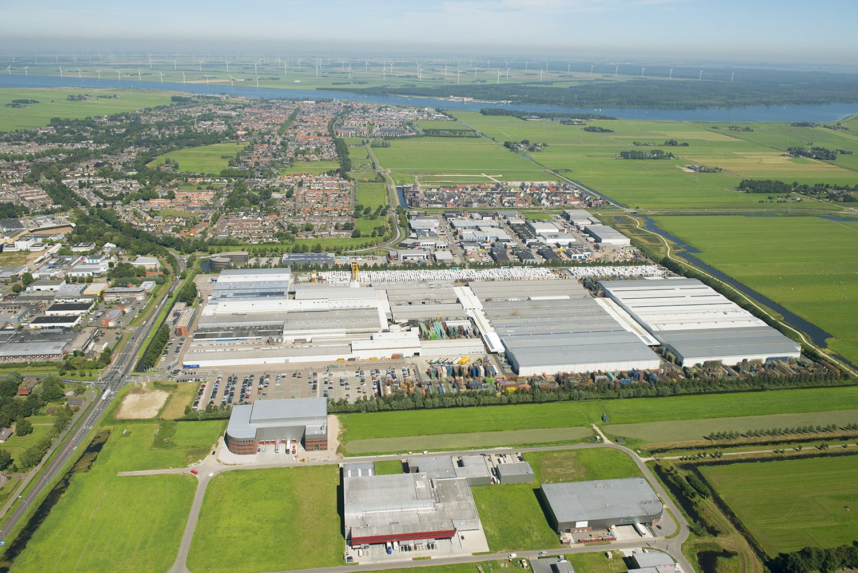 Luchtfoto's van iedere locatie in Nederland