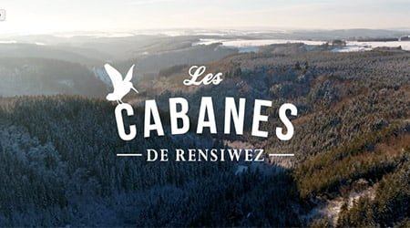 Drone video Les Cabanes de Resiwez