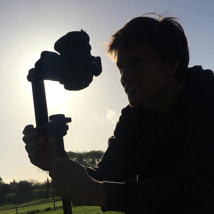 De 3D visualisatie fotograaf