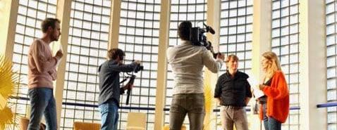 Van luchtopnames tot videoproducties.