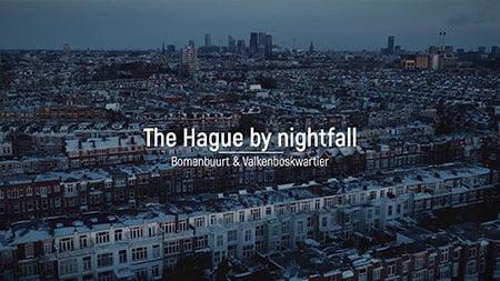 The Hague by nightfall